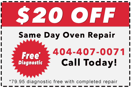 Oven Repair Coupon
