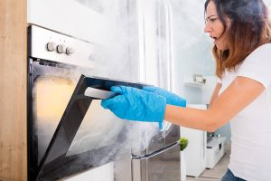 Oven is Smoking - Oven Repair Atlanta - It Is Fixed