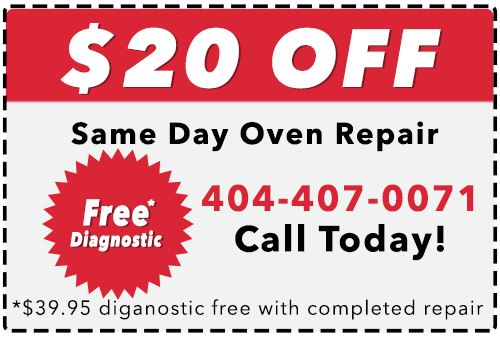 Local Oven Repair Coupon