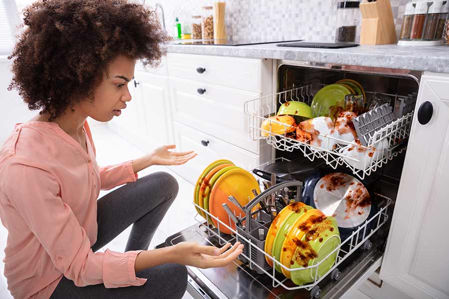 Dishwasher Not Getting Dishes Clean - Troubleshooting - Atlanta - It Is Fixed