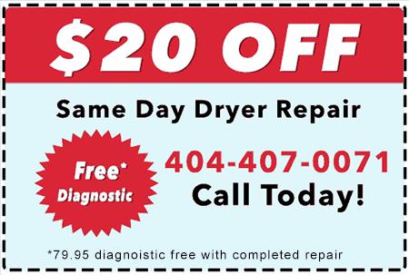 Dryer Repair Coupon